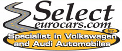 Select Euro Cars - Specialist in Volkswagen and Audi Automobiles